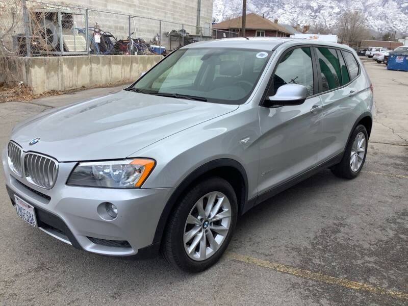 2014 BMW X3 for sale at Select AWD in Provo UT