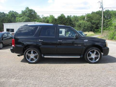 2004 Cadillac Escalade for sale at Hickory Wholesale Cars Inc in Newton NC