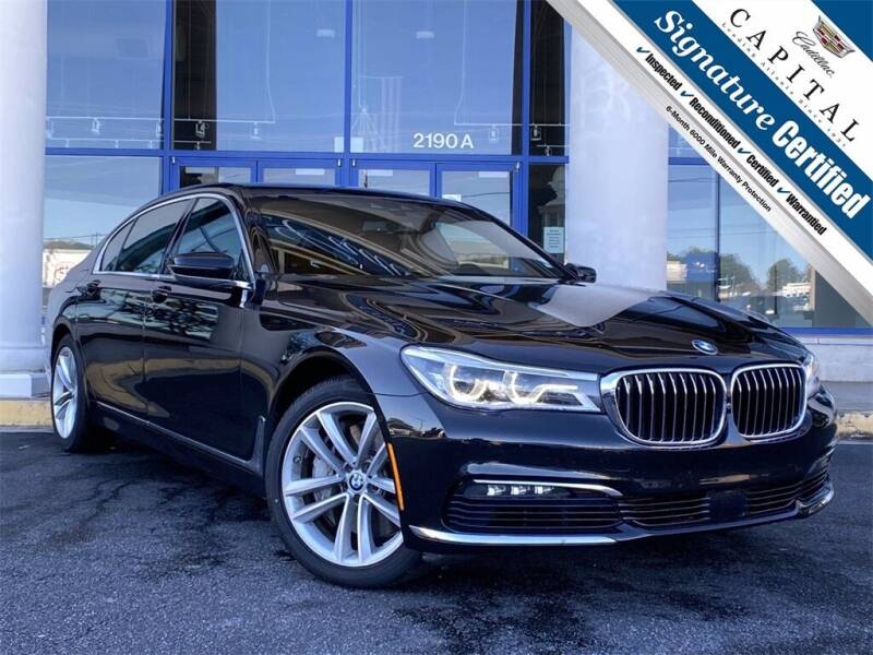 2016 BMW 7 Series for sale at Capital Cadillac of Atlanta in Smyrna GA