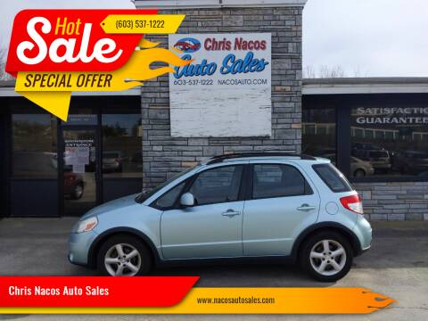 2009 Suzuki SX4 Crossover for sale at Chris Nacos Auto Sales in Derry NH