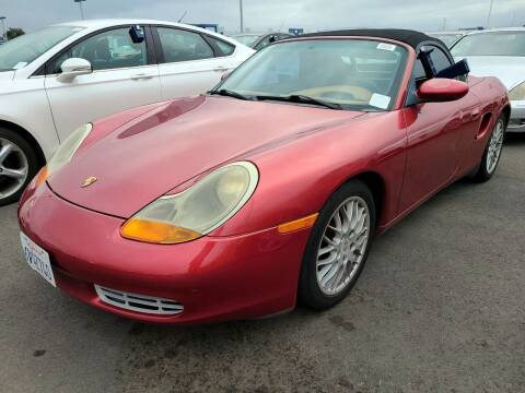 2001 Porsche Boxster for sale at MCHENRY AUTO SALES in Modesto CA