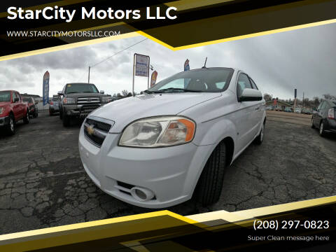 2009 Chevrolet Aveo for sale at StarCity Motors LLC in Garden City ID