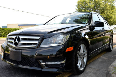 2012 Mercedes-Benz C-Class for sale at Wheel Deal Auto Sales LLC in Norfolk VA