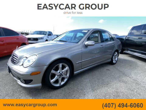 2007 Mercedes-Benz C-Class for sale at EASYCAR GROUP in Orlando FL