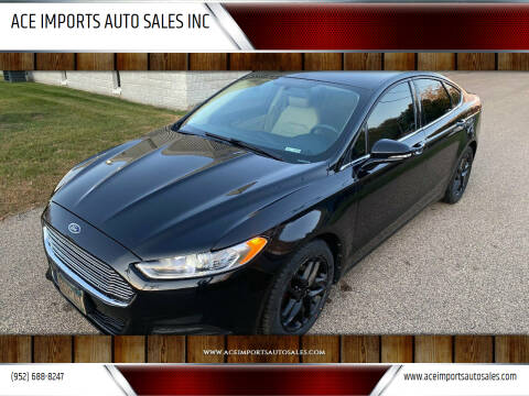 2013 Ford Fusion for sale at ACE IMPORTS AUTO SALES INC in Hopkins MN