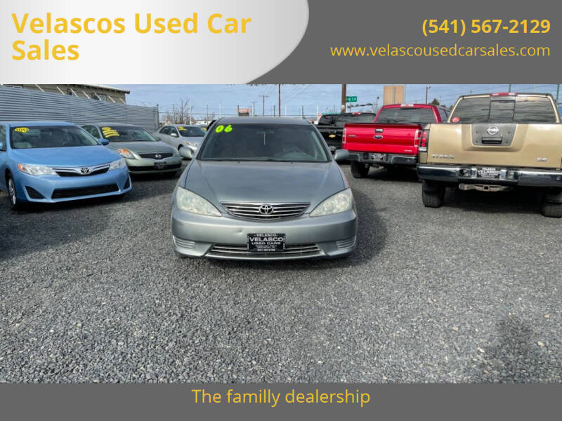 2006 Toyota Camry for sale at Velascos Used Car Sales in Hermiston OR