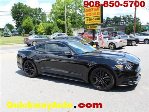 2015 Ford Mustang for sale at Quickway Auto Sales in Hackettstown NJ