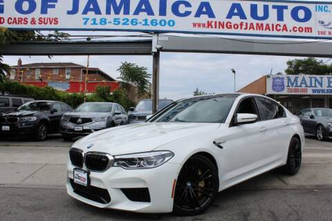 2018 BMW M5 for sale at MIKEY AUTO INC in Hollis NY