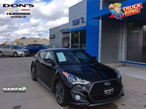 2016 Hyundai Veloster for sale at DON'S CHEVY, BUICK-GMC & CADILLAC in Wauseon OH
