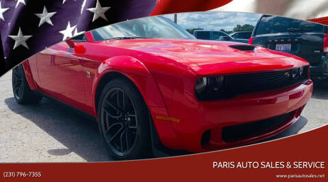 2021 Dodge Challenger for sale at Paris Auto Sales & Service in Big Rapids MI