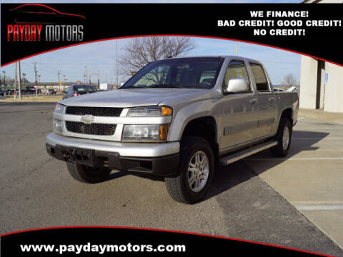 2012 Chevrolet Colorado for sale at Payday Motors in Wichita And Topeka KS