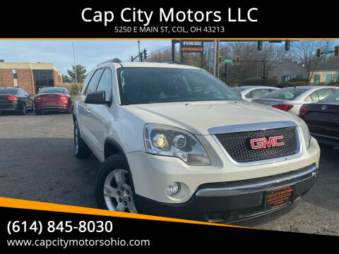 2010 GMC Acadia for sale at Cap City Motors LLC in Columbus OH