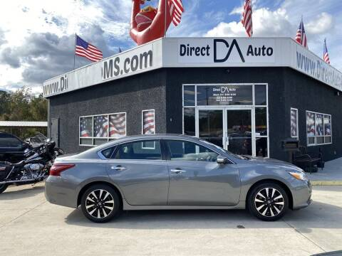 2018 Nissan Altima for sale at Direct Auto in D'Iberville MS
