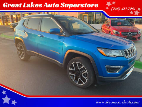 2018 Jeep Compass for sale at Great Lakes Auto Superstore in Pontiac MI