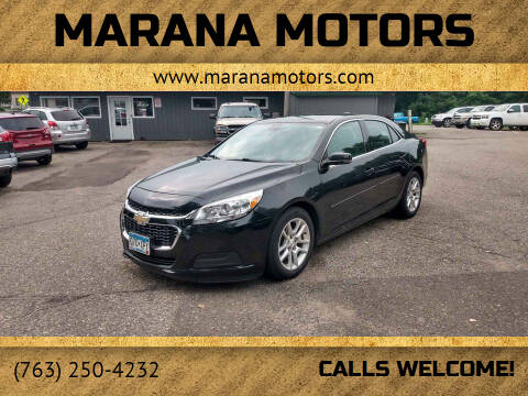 2015 Chevrolet Malibu for sale at Marana Motors in Princeton MN