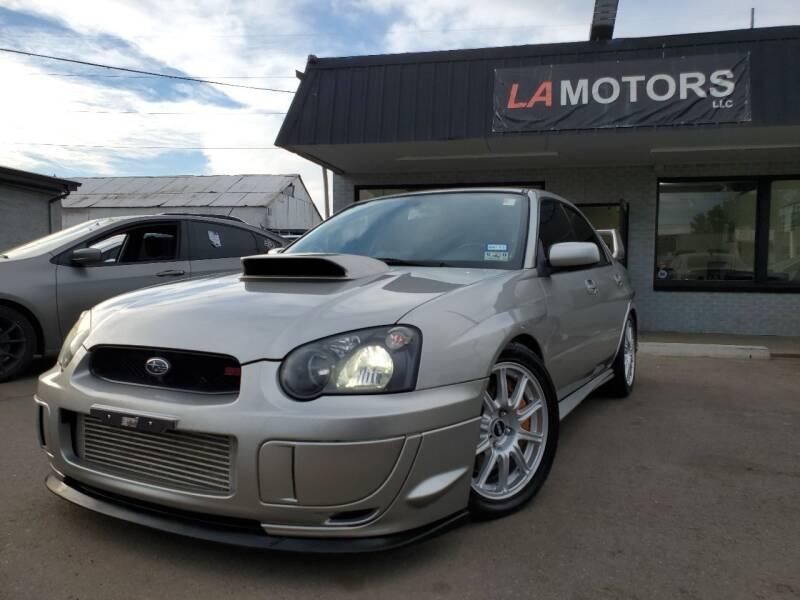 2005 Subaru Impreza for sale at LA Motors LLC in Denver CO