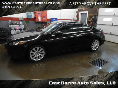 2009 Honda Accord for sale at East Barre Auto Sales, LLC in East Barre VT