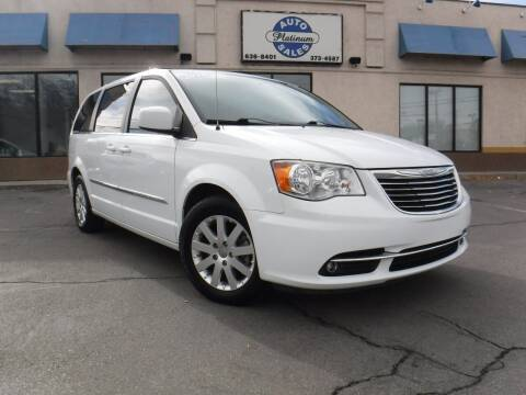 2016 Chrysler Town and Country for sale at Platinum Auto Sales in Provo UT