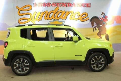 2017 Jeep Renegade for sale at Sundance Chevrolet in Grand Ledge MI
