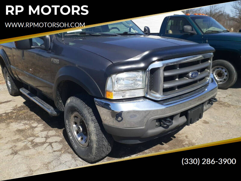 2004 Ford F-250 Super Duty for sale at RP MOTORS in Canfield OH