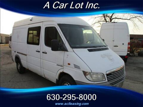 2003 Dodge Sprinter Cargo for sale at A Car Lot Inc. in Addison IL