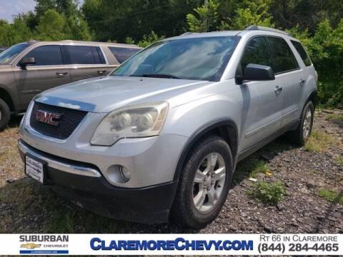 2012 GMC Acadia for sale at Suburban Chevrolet in Claremore OK
