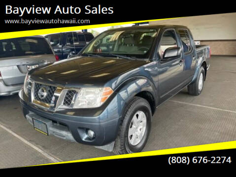2013 Nissan Frontier for sale at Bayview Auto Sales in Waipahu HI