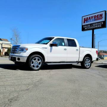 2013 Ford F-150 for sale at Hayden Cars in Coeur D Alene ID