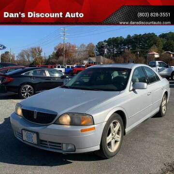 2000 Lincoln LS for sale at Dan's Discount Auto in Gaston SC