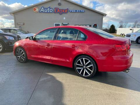 2014 Volkswagen Jetta for sale at The Auto Depot in Mount Morris MI