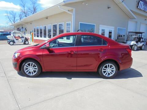 2012 Chevrolet Sonic for sale at Milaca Motors in Milaca MN