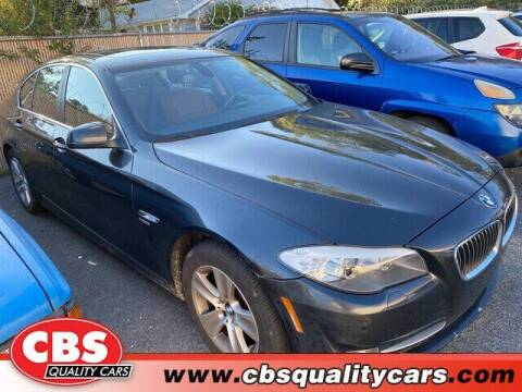 2012 BMW 5 Series for sale at CBS Quality Cars in Durham NC