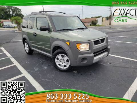 2005 Honda Element for sale at Exxact Cars in Lakeland FL