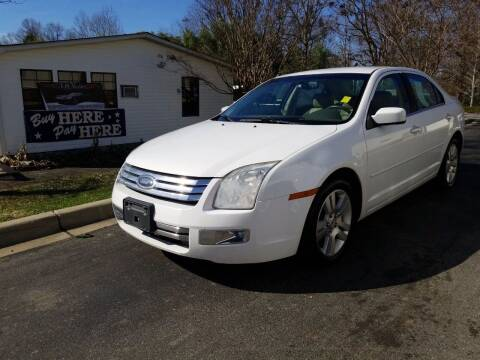 2007 Ford Fusion for sale at TR MOTORS in Gastonia NC