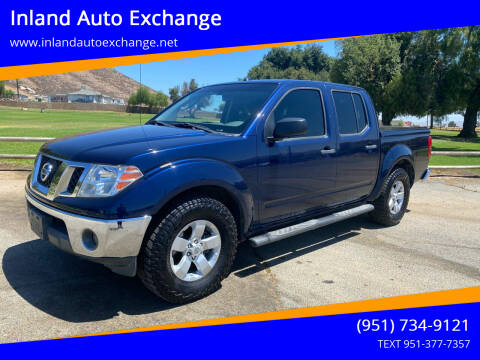 2011 Nissan Frontier for sale at Inland Auto Exchange in Norco CA