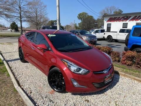 2016 Hyundai Elantra for sale at Beach Auto Brokers in Norfolk VA