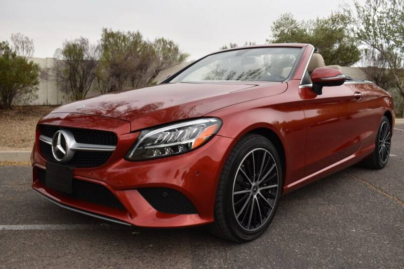 2020 Mercedes-Benz C-Class for sale at AMERICAN LEASING & SALES in Tempe AZ