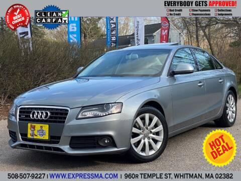 2009 Audi A4 for sale at Auto Sales Express in Whitman MA