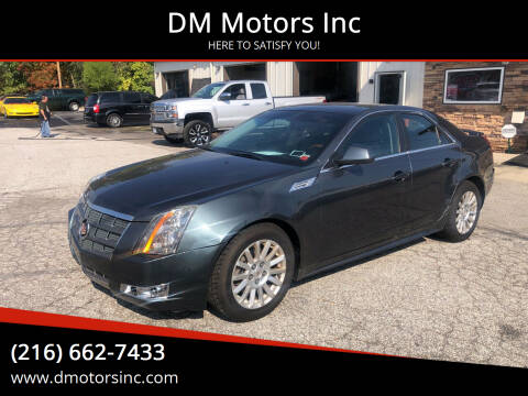 2010 Cadillac CTS for sale at DM Motors Inc in Maple Heights OH