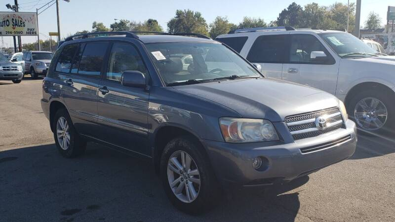 2006 Toyota Highlander Hybrid for sale at Lexington Auto Store in Lexington KY