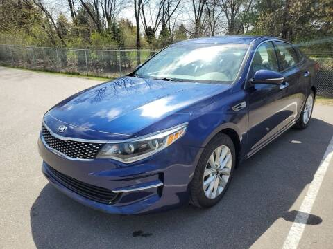 2016 Kia Optima for sale at Ace Auto in Jordan MN