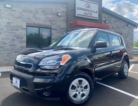 2011 Kia Soul for sale at GREENVILLE AUTO & RV in Greenville WI