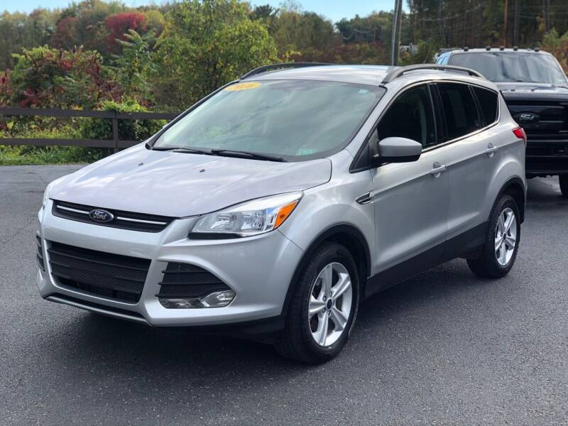 2016 Ford Escape for sale at Pine Grove Auto Sales LLC in Russell PA
