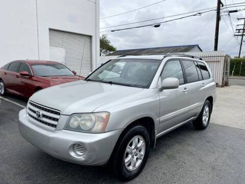 2003 Toyota Highlander for sale at Prime Sales in Huntington Beach CA