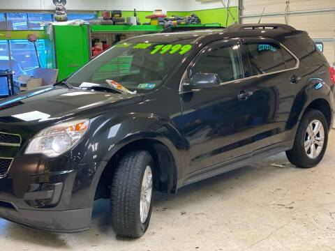 2012 Chevrolet Equinox for sale at Ginters Auto Sales in Camp Hill PA