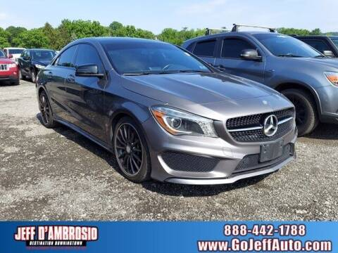 2014 Mercedes-Benz CLA for sale at Jeff D'Ambrosio Auto Group in Downingtown PA