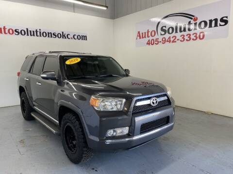 2010 Toyota 4Runner for sale at Auto Solutions in Warr Acres OK