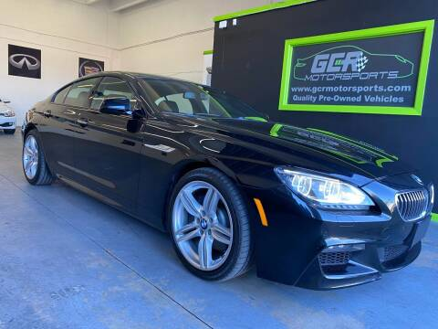 2015 BMW 6 Series for sale at GCR MOTORSPORTS in Hollywood FL