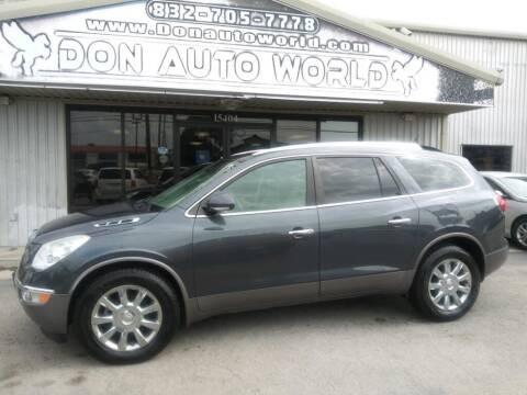 2012 Buick Enclave for sale at Don Auto World in Houston TX