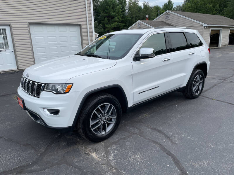 2018 Jeep Grand Cherokee for sale at Glen's Auto Sales in Fremont NH